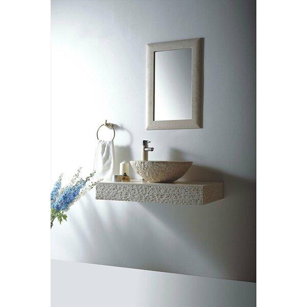 Rome Stone 36 Wall Mount Bathroom Sink by MTD Vanities