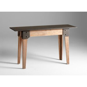 Mesa Raw Table in Iron and Natural Wood by C..