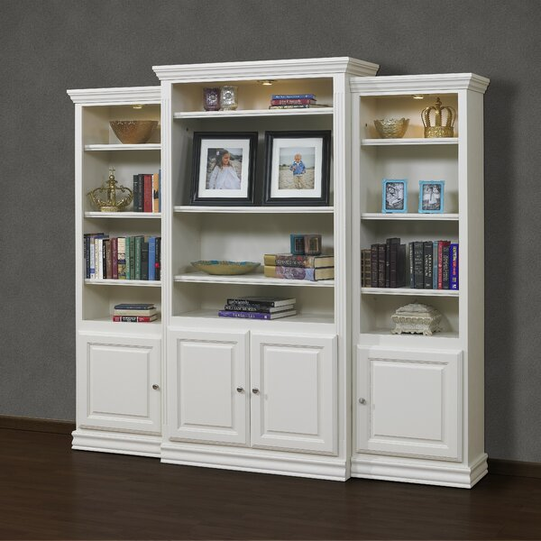 French Restoration Kamran Oversized Set Bookcase By A&E Wood Designs
