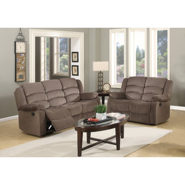 Fallon Reclining 2 Piece Living Room Set (Set of 2) by Red Barrel Studio