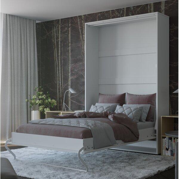 Lucan Vertical Wall Murphy Bed with Mattress by Orren Ellis Orren Ellis