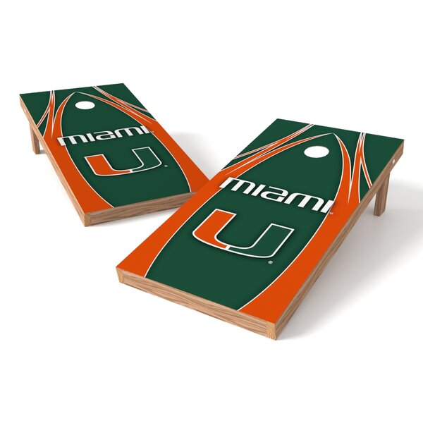 NCAA Game Cornhole Set by Tailgate Toss