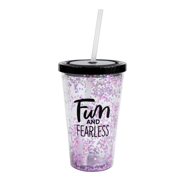 Mark Fun and Fearless 19 oz. Plastic Travel Tumbler by Hallmark
