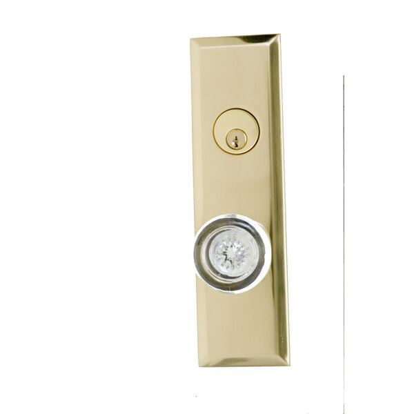 Quaker Single Cylinder Entrance Knobset by BRASS Accents