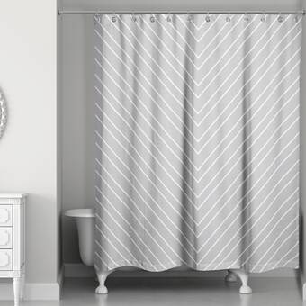 Mercer41 Brody Tile Single Shower Curtain Wayfair