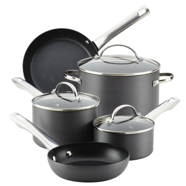 10 Piece Nonstick Cookware Set by Farberware