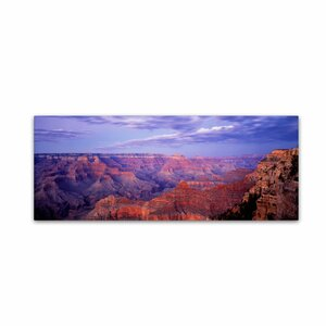 The Grand Canyon by David Evans Photographic Print on Wrapped Canvas by Trademark Fine Art