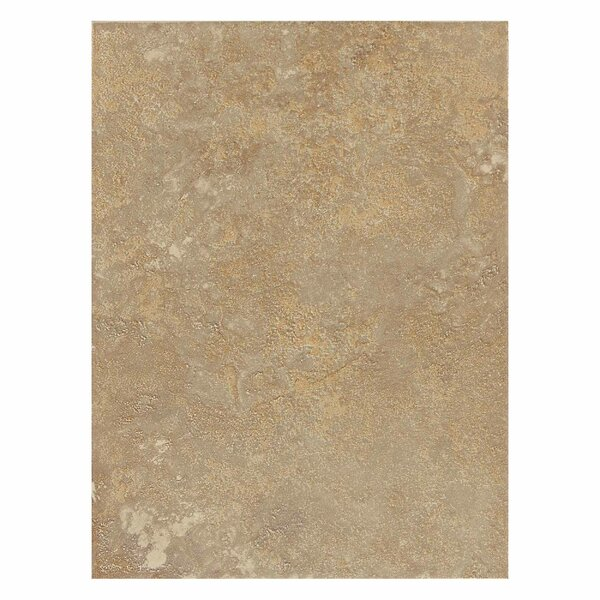 Huston 9 x 12 Ceramic Field Tile in Raffia Noce by Itona Tile