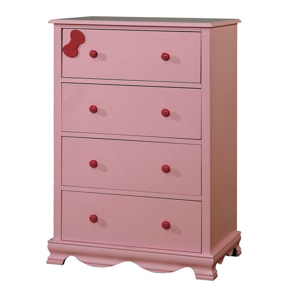 Gleason Contemporary 4 Drawer Chest by Zoomie Kids