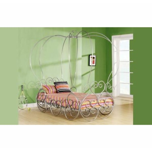 Annalise Twin Canopy Bed by Harriet Bee