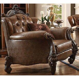 Meier Club Chair with 2 Pillows by Astoria Grand