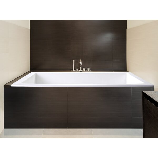 Sparta 60 x 32 Soaking Bathtub by Clarke Products