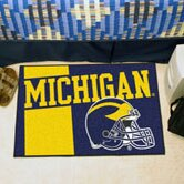 NCAA University of Michigan Starter Mat by FANMATS