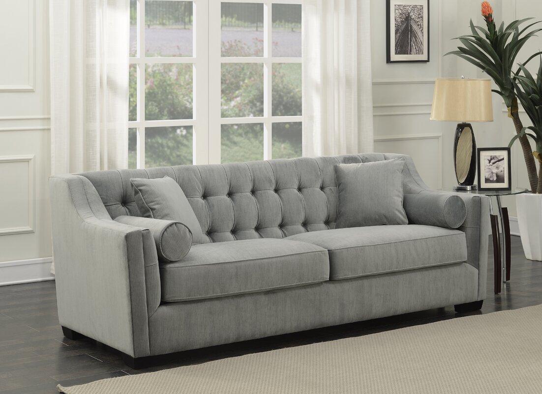 Bufford Tufted Sofa By Mercury Row
