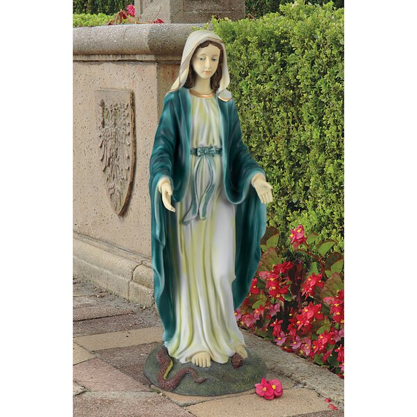 Virgin Mary, the Blessed Mother of the Immaculate Conception Garden Statue by Design Toscano