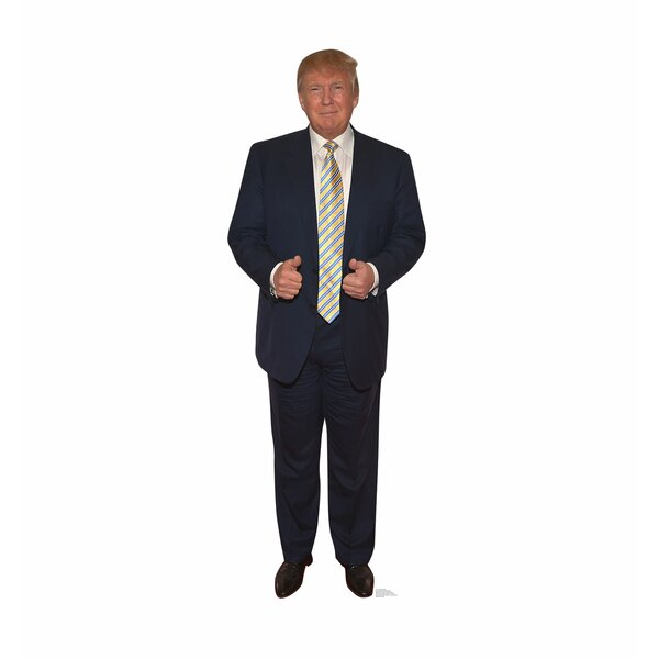 Donald Trump Life Size Cardboard Cutout by Advance