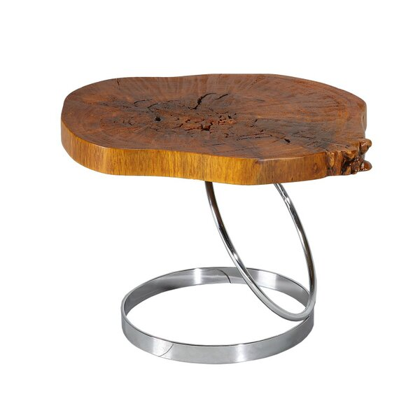 Caulfield End Table by Union Rustic