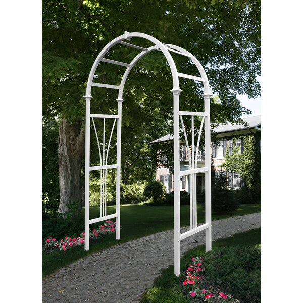 Dublin Vinyl Arbor by New England Arbors