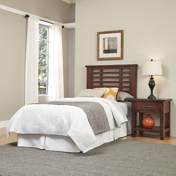Rockvale Slat 2 Piece Bedroom Set by Loon Peak