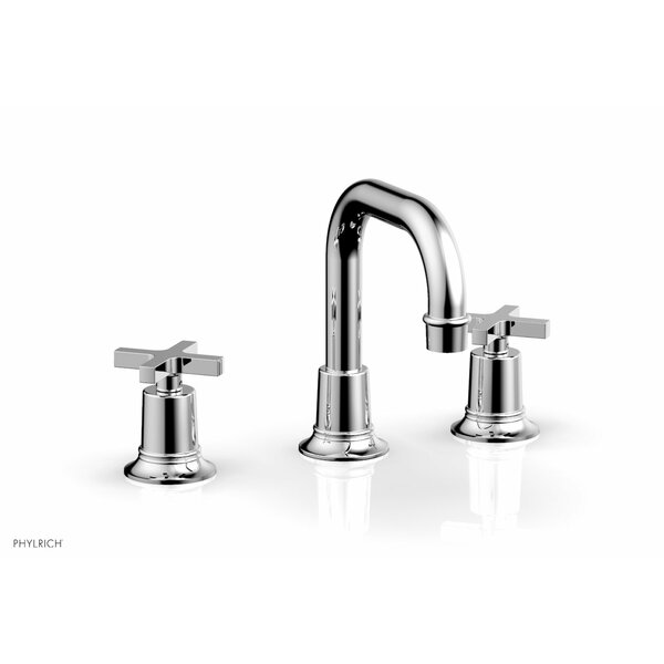 Hex Widespread Bathroom Faucet With Drain Assembly By Phylrich
