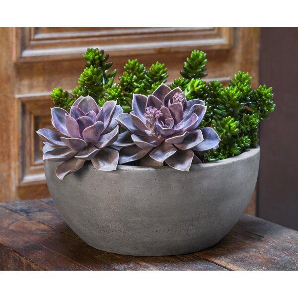 Rigdon Bowl 4-Piece Fiber Cement Pot Planter Set by Brayden Studio