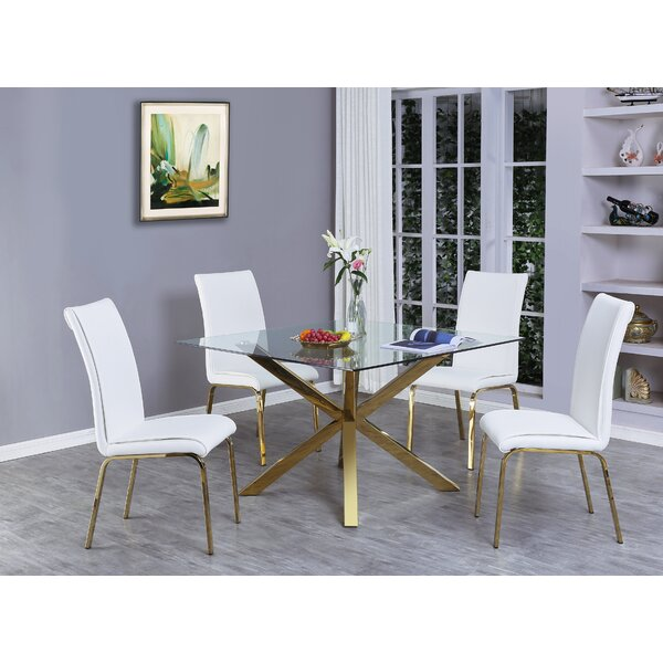 Wagner 5 Piece Dining Set by Mercer41