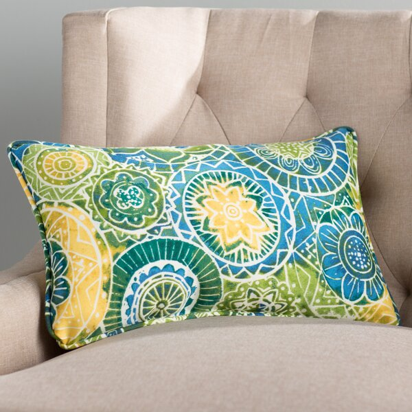Eshal Indoor/Outdoor Floral Throw Pillow (Set of 2)