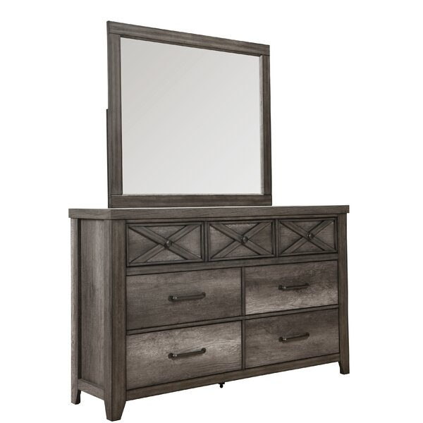 Muneeb 7 Drawer Double Dresser by Gracie Oaks