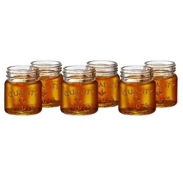Mason Jar Shot Glasses (Set of 6) by Birch Lane™