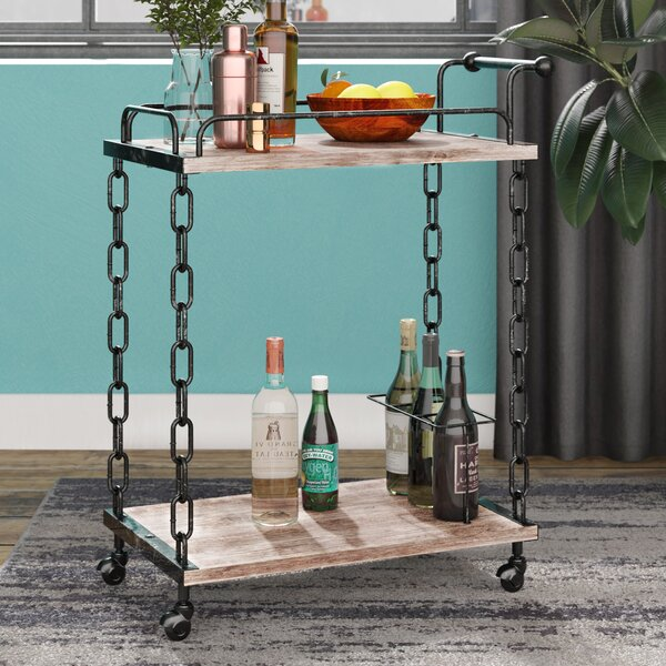 Lytchett Bar Cart by Williston Forge