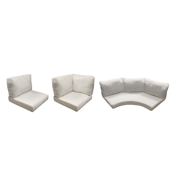East Village 14 Piece Outdoor Cushion Set by Rosecliff Heights