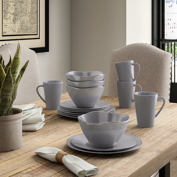 Ganado 16 Piece Dinnerware Set, Service for 4 by Greyleigh