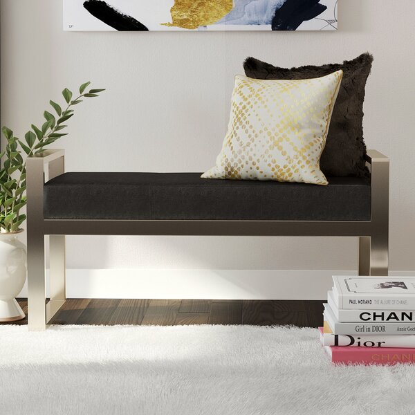 Kearse Upholstered Bench by Willa Arlo Interiors