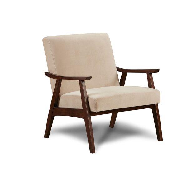 Brazell Maximillian Wood Armchair by Corrigan Studio