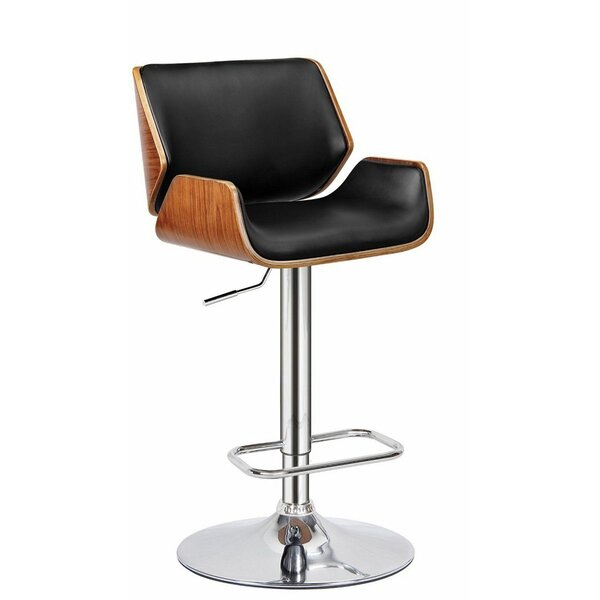 Madalynn Adjustable Height Swivel Bar Stool by Corrigan Studio