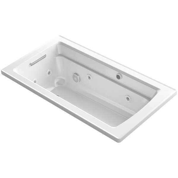 Archer 60 x 32 Air / Whirlpool Bathtub by Kohler