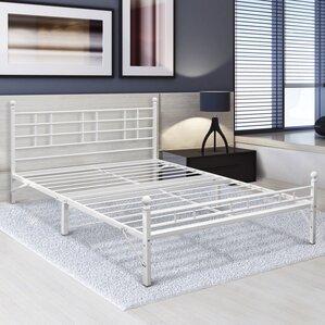 Steel Platform Bed Frame by Alwyn Home