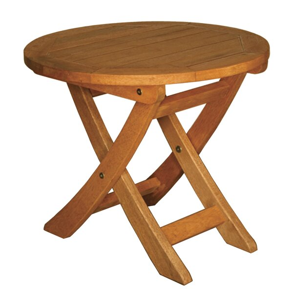 Terrace Mates Aspen Round Folding Side Table by Blue Star Group