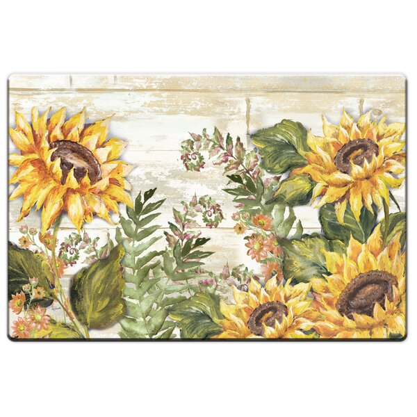 Nicholson Sunflowers Anti-Fatigue Mat