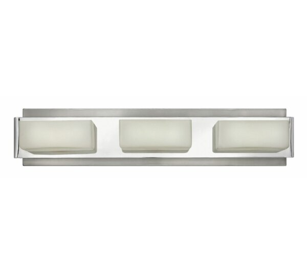 Domino 3-Light Bath Bar by Hinkley Lighting