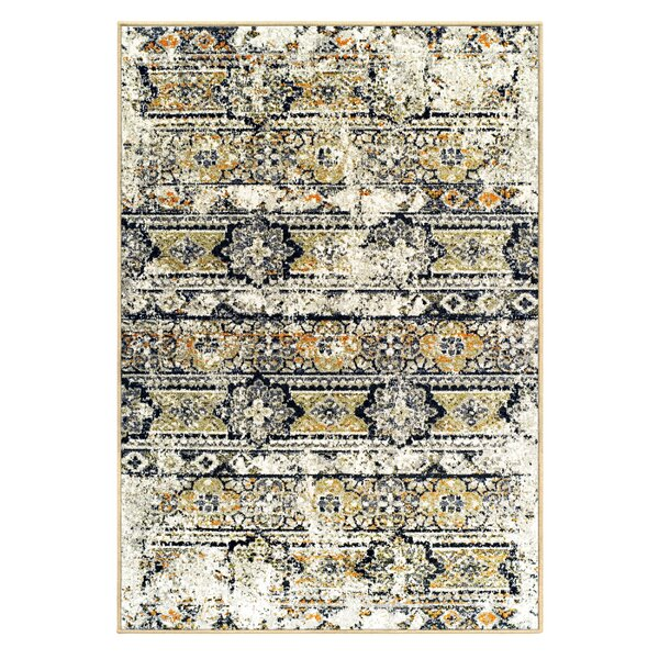 Albata Cream Area Rug by Bungalow Rose