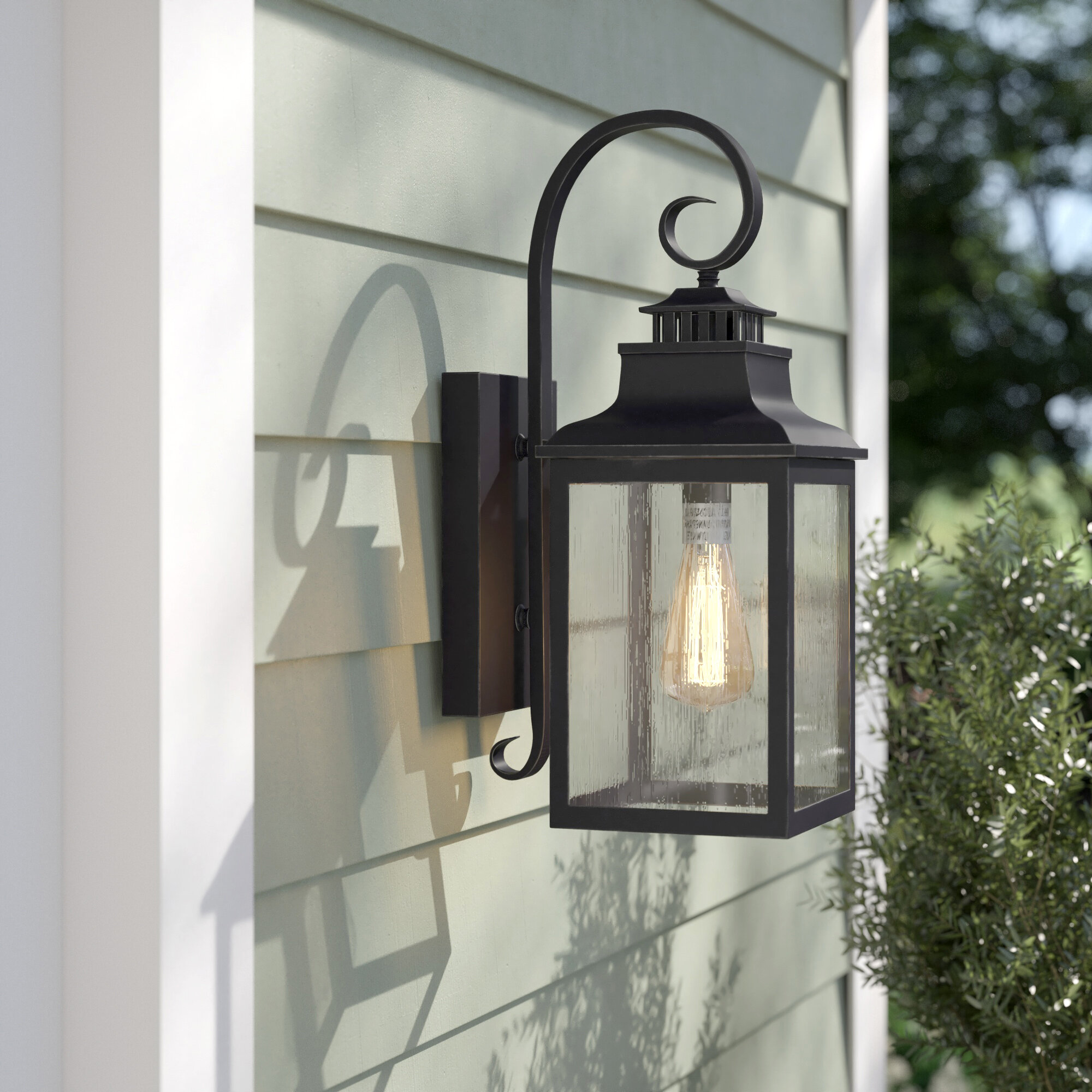 Large Outdoor Wall Lighting You Ll Love In 2021 Wayfair