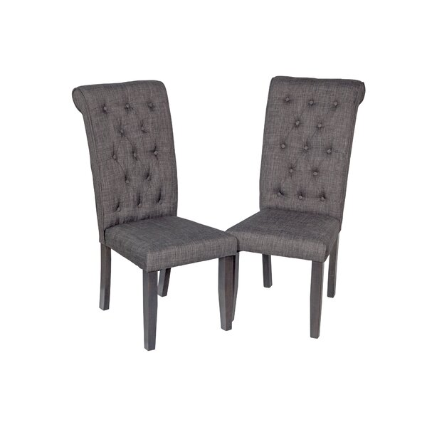 Two Sturdy Upholstered Dining Chair (Set of 2) by TTP Furnish
