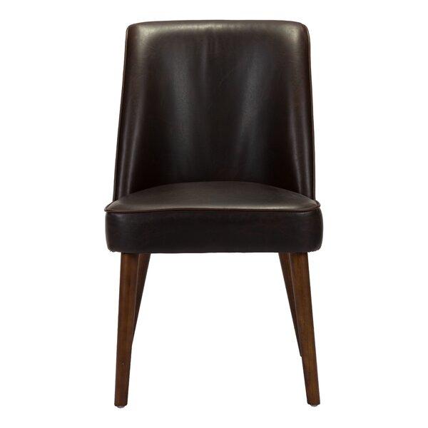 Buckhurst Upholstered Dining Chair in Brown (Set of 2) by Corrigan Studio Corrigan Studio