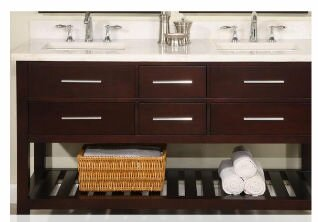Priva 60 Double Bathroom Vanity by Empire Industries