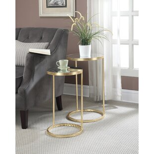 Affordable Rumsey 2 Piece End Table Set ByWilla Arlo Interiors