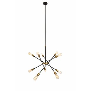 Caden 10 Light Sputnik Chandelier