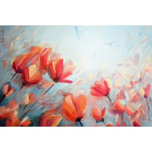 'Dreaming in Full Color' Print on Canvas by East Urban Home