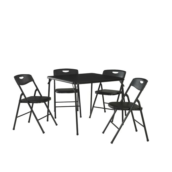 #2 Bangs 5 Piece Dining Set By Ebern Designs Comparison