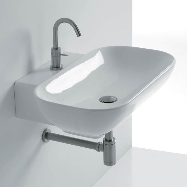 Ciotola Rectangular Vessel Bathroom Sink by WS Bath Collections